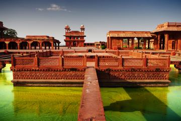 Visite privée : Agra, au Taj Mahal et à Fatehpur Sikri au départ de...