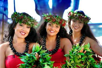 Island Breeze Luau auf Big Island