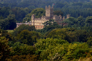 Downton Abbey and Highclere Castle...