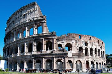 Transfer from Civitavecchia to Ancient Rome, via Colosseum and Roman Forum