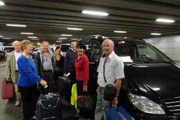 Trasferimento con mezzi privati all'arrivo: dalla stazione di