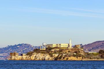 Entrada para Alcatraz e excursão de bicicleta pela Região Vinícola