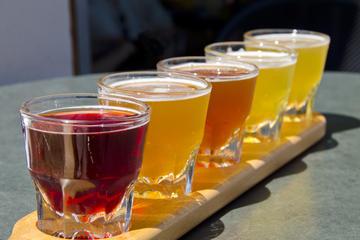 Excursión de cerveza artesanal y bicicleta para grupos pequeños en...