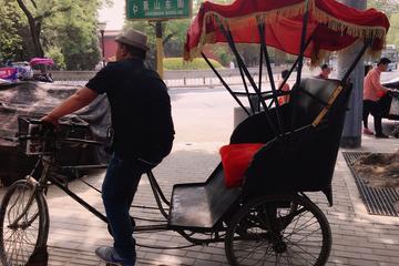 Circuit culturel privé: Les hutong (ruelles) en pousse-pousse et  la...