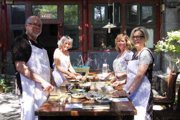 Expérience à Pékin: cours de cuisine chinoise et visite du marché