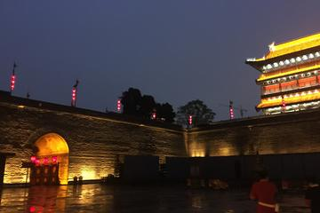 Xi'an Night-Muslim Quarter,City Wall,Bell&Drum Tower and Big Wild Goose Pagoda
