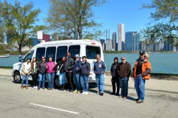 Visite de la ville de Chicago et croisière en option sur le fleuve...