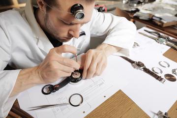 À Maurice watch workshop