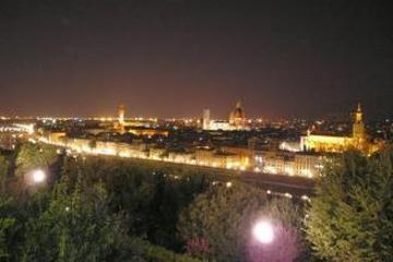 マイバスで行く!ミケランジェロ広場から望む夜景…