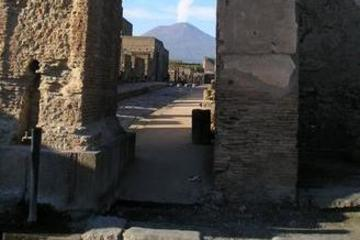 ローマ発・ご当地ランチとワイナリー見学付!世界遺産ポンペイ遺跡1日観光ツアー…
