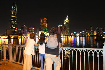 Saigon nightlife and Food taste by scooter (Private)
