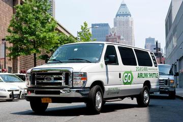 Felles transport ved avreise: hotellet til New York Citys flyplasser