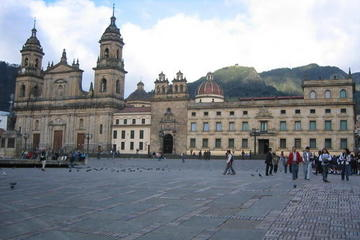 Excursão turística à cidade de Bogotá...