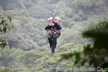Small Group Tropical Forest Xtreme Sports Day Trip From Bogota
