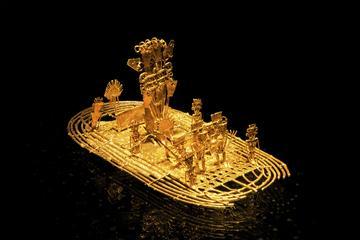 Tour combinato di Bogotà: lago Guatavita e Museo dell'Oro