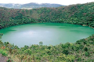 Tour di mezza giornata per la laguna de Guatavita, con partenza da