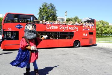 Hop on hop off-bussrundtur i Lissabon ...