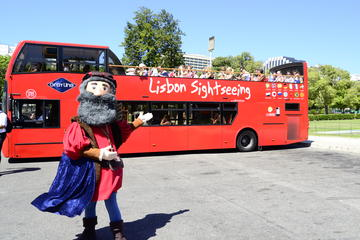 Hop-on-Hop-off-Bustour in Lissabon mit optionaler Cascais Linie