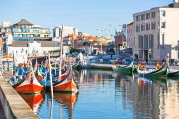 Tour naar Aveiro vanuit Porto inclusief Moliceiro-boottocht