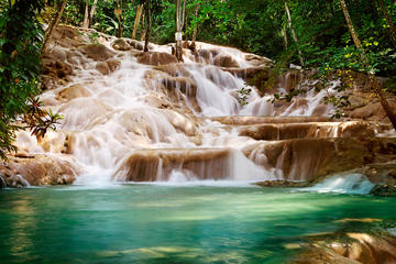 Private Tour From Ocho Rios To Dunn's River Falls Tubing and Shopping