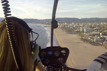 Helicopter Tour over California's Coastline with Private Landing from Los Angeles