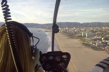 Private Tour: Hubschrauberflug in Los...