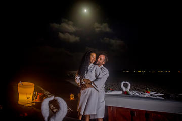 Romantic Punta Cana Moonlight Beach...