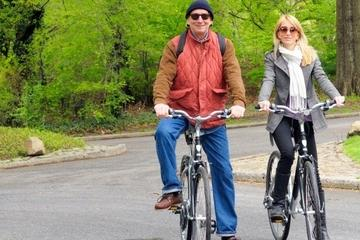 Aluguel de bicicleta no Central Park...