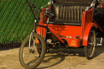 Visite de Central Park en vélotaxi