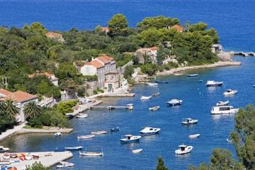 Excursão privada: Cruzeiro ao pôr do sol por Dubrovnik