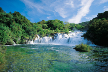 Excursión de un día desde Dubrovnik al Parque Nacional de Krka