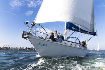 Small-Group San Diego Sailing Trip