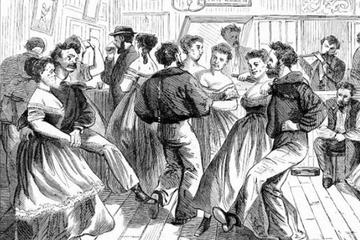 The Lawless Days of Buffalo Pub Crawl