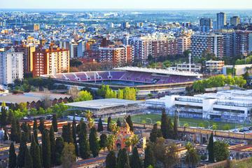 Survol en hélicoptère de Barcelone et de la côte