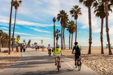 A melhor excursão de bicicleta por Los Angeles