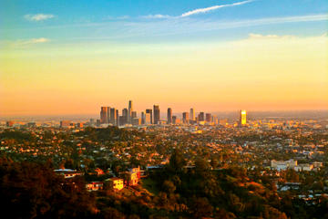 Fottur i Hollywood Hills i Los Angeles