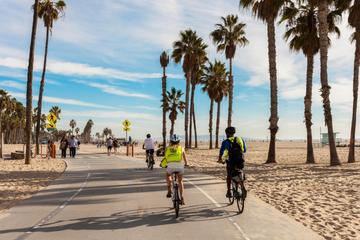 La excursión en bicicleta de Los Angeles