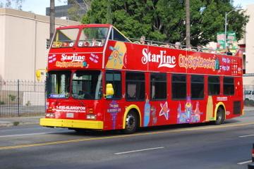 Tour combiné Los Angeles : tour en bus à arrêts multiples et tour en...