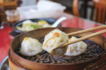 Clase de cocina de Dim Sum china...