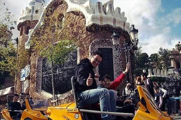 Tour met GoCar en GPS door Barcelona