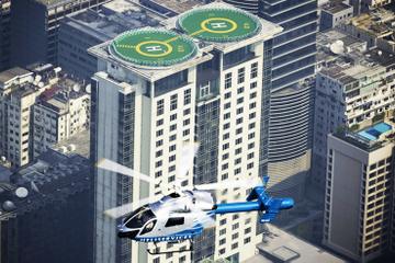 Passeio de helicóptero privado Hong Kong