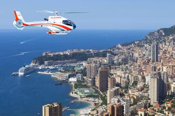Excursão cênica de helicóptero pela Riviera francesa saindo de Mônaco