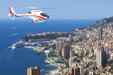Hubschrauberrundflug über die französische Riviera von Monaco