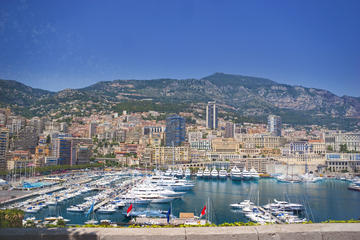 Private transfer to Monaco and Monte-Carlo Lunch