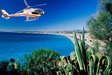 Smuk helikoptertur fra Nice