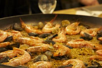 Lezione di cucina per piccoli gruppi a Barcellona