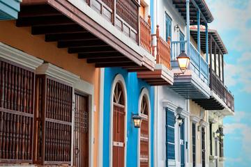 Madtur i det gamle San Juan
