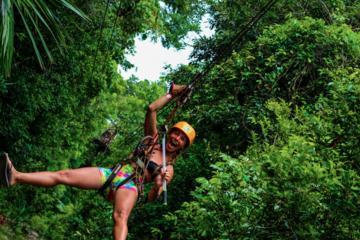 ATV - Zip Line - Cenote SGL Combo Boca del Puma