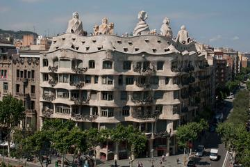 Sla de wachtrij over: audiotour door La Pedrera van Gaudí in Barcelona
