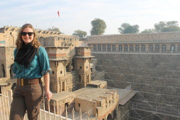 Abhaneri Private Tour: Chand Baori and Harshat Mata Temple
